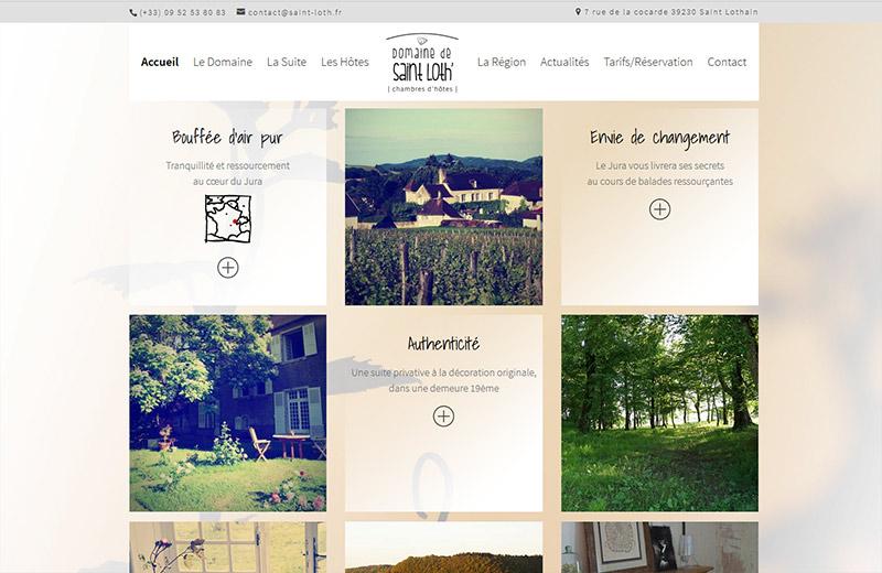 Agence niko domaine de saint loth 39 agence niko for Jura chambre d hotes